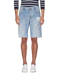 Uniform Denim Denim Bermudas Blue