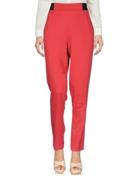 Alysi Casual Pants Red