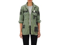Madeworn X Roc96 Women's Roca Fella Canvas Field Jacket Green Dark Green