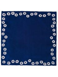 Jupe By Jackie Floral Print Square Blue