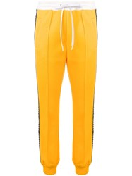 Miu Miu Relaxed Fit Track Trousers Yellow