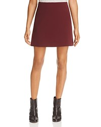 Dylan Gray A Line Skirt Burgundy