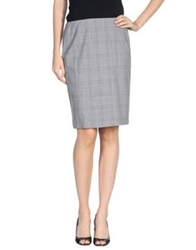 Piazza Sempione Knee Length Skirts Light Grey
