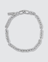 Prada Chain Necklace Silver