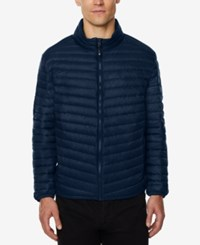 32 Degrees Men's Light Thin Packable Bomber Jacket A Macy's Exclusive Cop Navy M