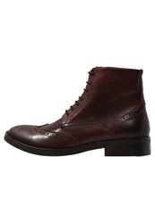 Belmondo Laceup Boots Bordeaux Brown