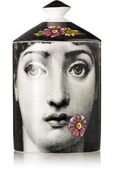 Fornasetti Flora Scented Candle White