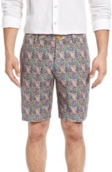 Men's Robert Graham 'Lake Havasu' Paisley Print Linen And Cotton Shorts