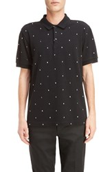 Kenzo Men's Embroidered Letter Polo