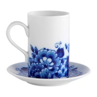 Vista Alegre Blue Ming Coffee Cup And Saucer
