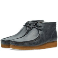 Clarks Originals X Horween Leather Co. Wallabee Boot Blue
