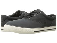 Polo Ralph Lauren Vaughn Saddle Grey Grey Sport Matte Fabric Sport Suede Men's Shoes Blue
