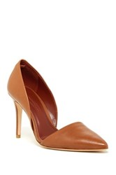Aerin Faden D'orsay Pump Brown