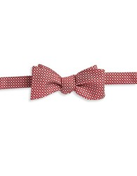 Brooks Brothers Striped And Textured Bow Tie