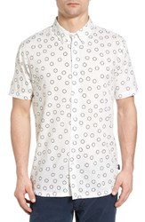 Rvca Men's Ring Print Woven Shirt