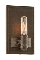 Troy Lighting Pike Place 3121 Wall Light Brown