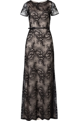 Catherine Deane Floor Length Lace Gown