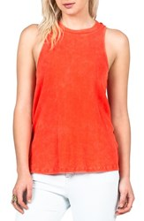 Junior Women's Volcom 'Cover Your Basics' Ribbed Racerback Tank