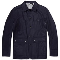 Sophnet. Wool Coverall Navy