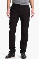 Ag Jeans Men's Ag Slim Straight Leg Chinos Black