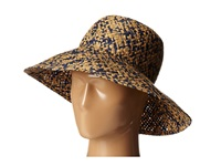 Bcbgmaxazria High Crown Floppy Hat Blue Depths Caps
