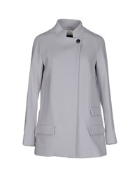 M.Grifoni Denim Coats And Jackets Coats Women Light Grey