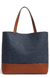 Phase 3 Denim Colorblock Tote