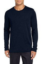 Velvet By Graham And Spencer Men's Nealon T Shirt Midnight Blue