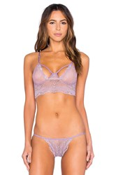 Only Hearts Club Whisper Sweet Nothings Cropped Cami Purple