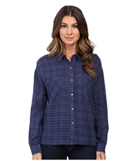 Joe's Jeans Melinda Shirt Navy Women's Clothing