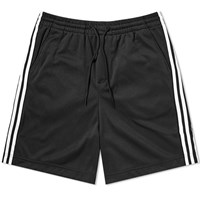 Y 3 Three Stripe Lux Track Short Black