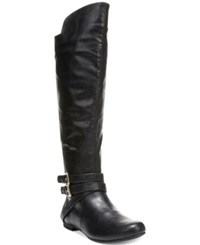 Fergalicious Rodeo Over The Knee Boots Women's Shoes Black