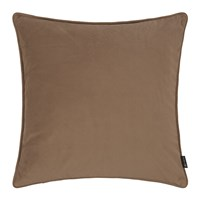 Amara Velvet Cushion Mocha Brown