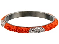Gypsy Soule Bling Mix Stack Bangle Wide Orange Bracelet