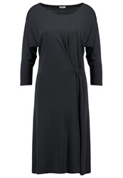 Filippa K Jersey Dress Coal Anthracite