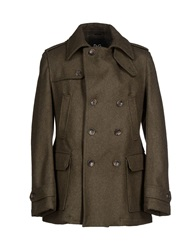 Dandg D And G Coats Military Green