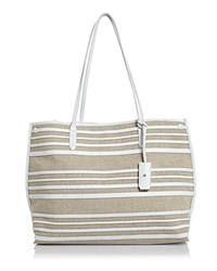 Etienne Aigner Penn Tote Optic White Natural
