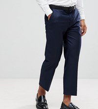 Heart And Dagger Tapered Cropped Trouser Navy