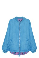 Paul And Joe Sister Reversible Bomber Jacket Pink