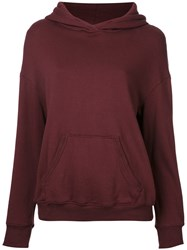 Cityshop Front Pocket Hoodie Red