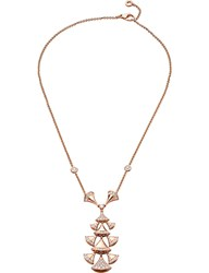 Bulgari Bvlgari Divas' Dream 18Kt Pink Gold And Diamond Necklace