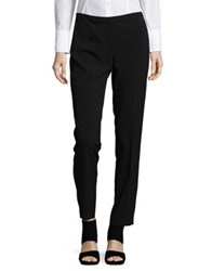 T Tahari Dessa Straight Leg Ankle Dress Pants Black