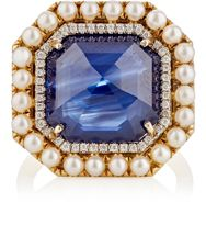 Irene Neuwirth Diamond Collection Women's Mixed Gemstone Ring Colorles Colorless