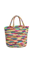 Sensi Studio Medium Tote Bag Multicolor Brights Gold