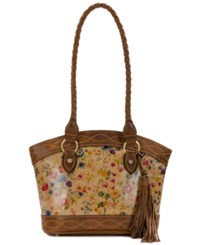 Patricia Nash Prairie Rose Zorita Small Satchel