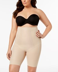 Miraclesuit Extra Firm Tummy Control Shape With An Edge High Waist Thigh Slimmer 2709 Nude Nude 01
