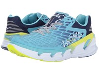 Hoka One One Vanquish 3 Blue Topaz Blueprint Running Shoes