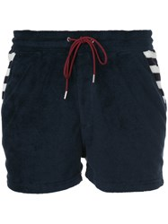 Loveless Patch Pocket Shorts Blue