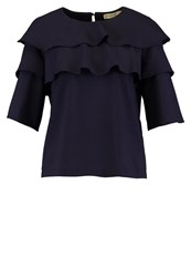 Paul And Joe Sister Blouse Marine Dark Blue