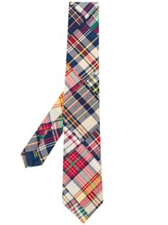 Polo Ralph Lauren Check Tie Blue